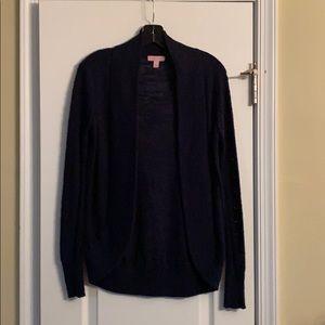 XS Navy Lightweight Lilly Pulitzer Sweater EUC